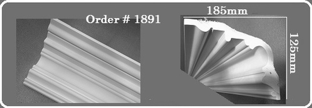 DM1891 Victorian Coving