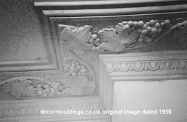 vine grape coving victorian
