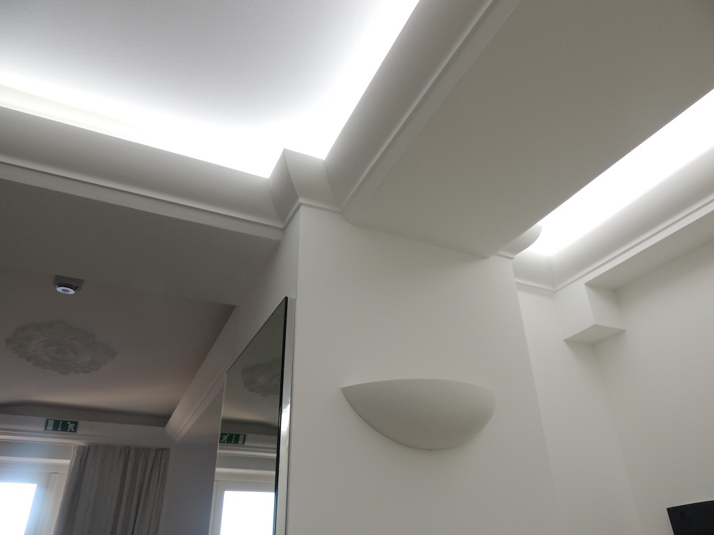 Dm1961 Scotia Coving Flat Coving For Angled Ceiling With