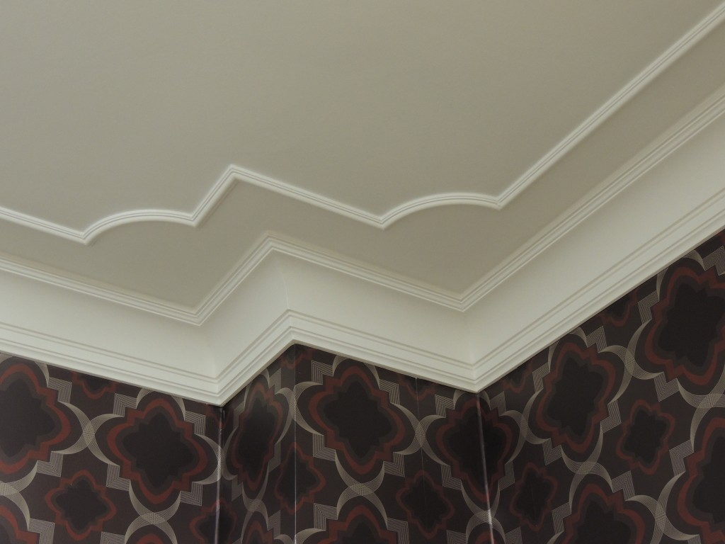 Dm1931 Modern Stepped Coving Plaster Art Deco Cornice Five