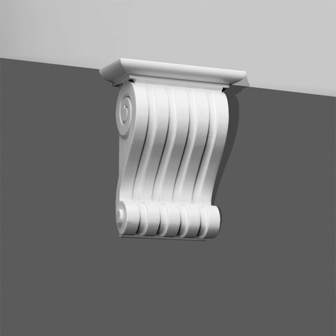 Corbel Classic fluted