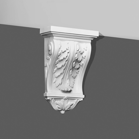 Victorian Corbel-Acanthus Leaf