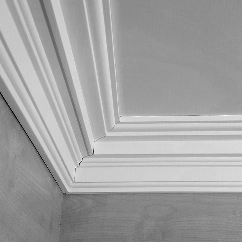 better ceiling decoration with molding georgian | Georgian Coving 145mmx2.5m CS1280